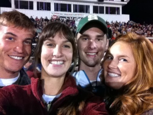Ryan, myself, Steve, and the new Mrs. Innis