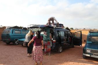 Leaving Antananarivo and heading to the Toamasina port. 8 hour bus ride ahead. No AC. Very few bathroom breaths. #leggo